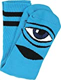 Toy Machine Sect Eye Iii Crew Socks Blue 1 Pair Skate Socks