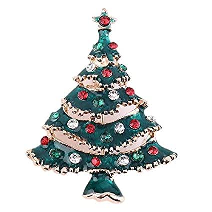 d73667125807e Amazon.com: Party Favors - Christmas Brooch Classic Tree Penguin ...