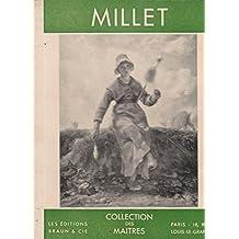 Millet: Collection Des Maitres