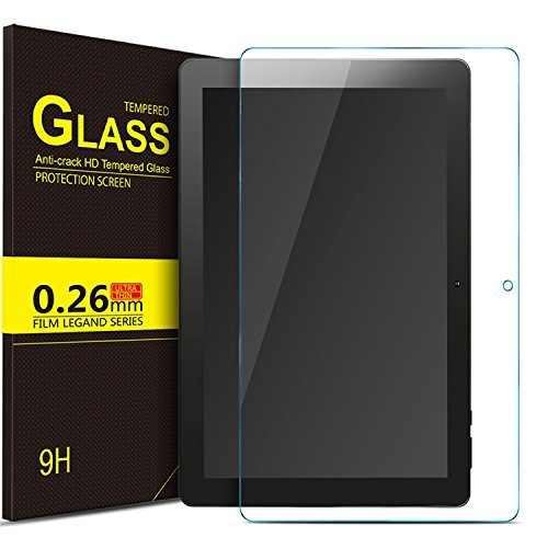 IVSO Dragon Touch X10 2018 Tablet Screen Protector Premium Crystal HD Clear Scratch Resistant -3 Pack for Dragon Touch X10 2018 Tablet