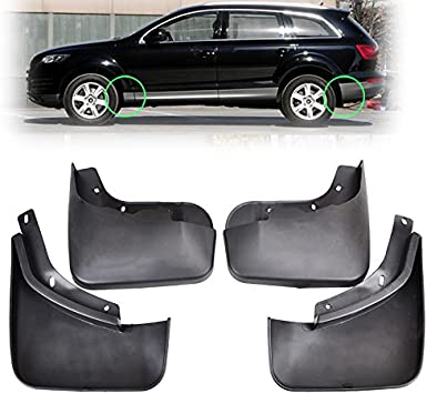 Upgraded Car Mud Flaps Mudguards for VOLKSWAGEN Beetle 2005-2012 Front Rear Splash Guards Car Fender Styling /& Body Fittings Black 4Pcs
