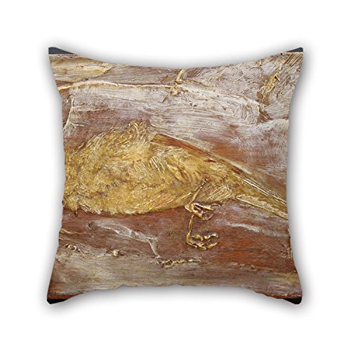 Oil Painting Albert Pinkham Ryder - Dead Bird Throw Pillow Covers ,best For Living Room,dining Room,office,valentine,girls 18 X 18 Inches / 45 By 45 Cm(both Sides) (Free Paris Hilton Sex Video)