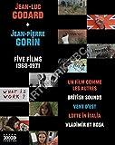 Jean-Luc Godard + Jean-Pierre Gorin: Five Films, 1968-1971 (6-Disc Special Edition) [Blu-ray + DVD]