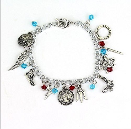 Sea of Monsters inspired - Percy Charm Bracelet,Percy Jackson Charm Bracelet