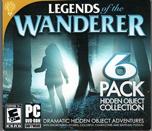 LEGENDS OF THE WANDERER Hidden Object Collection 6 - Horror Games Pc