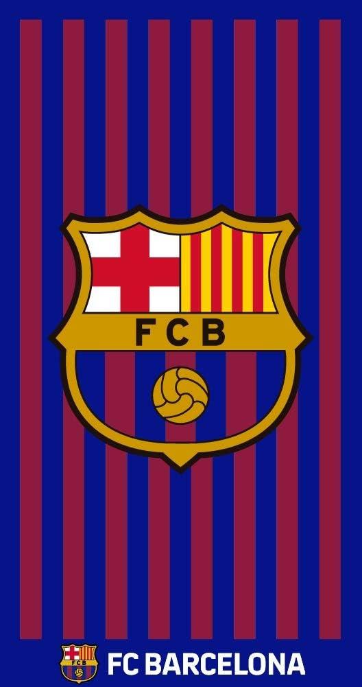 TEXTIL TARRAGO Toalla de Playa FCB Futbol Club Barcelona Bar/ça 90x170 cm 100/% Algodon Licencia Oficial FCB FCBTG3