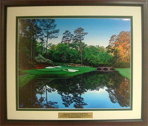 (Augusta National Golf Course 12th Hole Photograph)