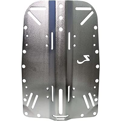 Zeagle Backplates - Stainless Steel