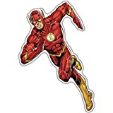Fan Emblems The Flash Character Car Decal Domed Multicolor Clear - DC Comics Justice League Automotive Emblem Sticker Applies Easily to Cars - Trucks - Motorcycles - Laptops - Windows - Almost Anything