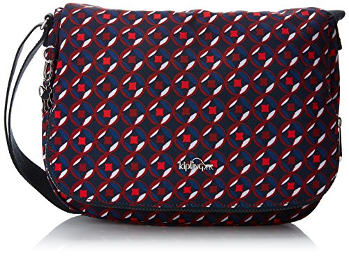 Print Multicolore Kipling bandoulière Sacs Tile Red Earthbeat M 0Z07qWvFPC