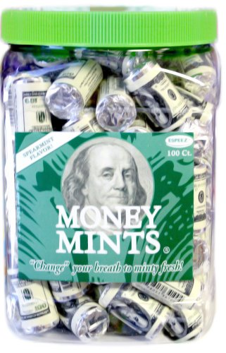 Money Mints 100ct - Mint Candy Bars