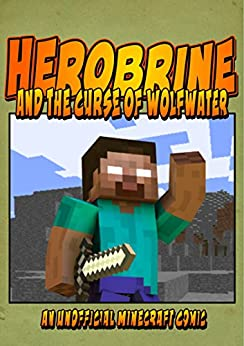 Herobrine Comics Curse Wolfwater ebook product image