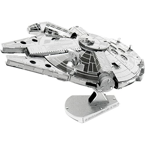 Fascinations Metal Earth Star Wars Millennium Falcon 3D Metal Model Kit
