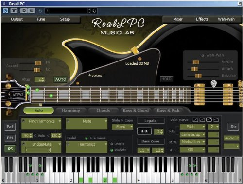 Musiclab RealLPCVirtual Instrument