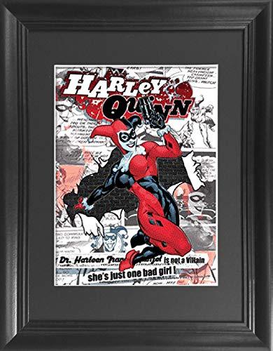 Harley Quinn DC Comics 3D Lenticular Poster - 14.5x18.5
