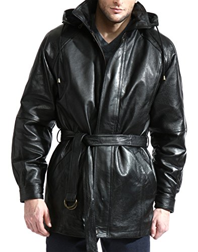 Mens 3/4 Length Leather - 7