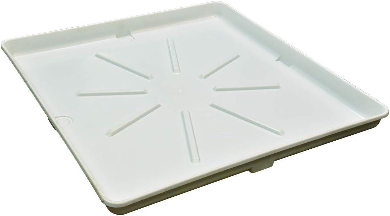 Eastman 52528 Washing Machine Drain Pan, White