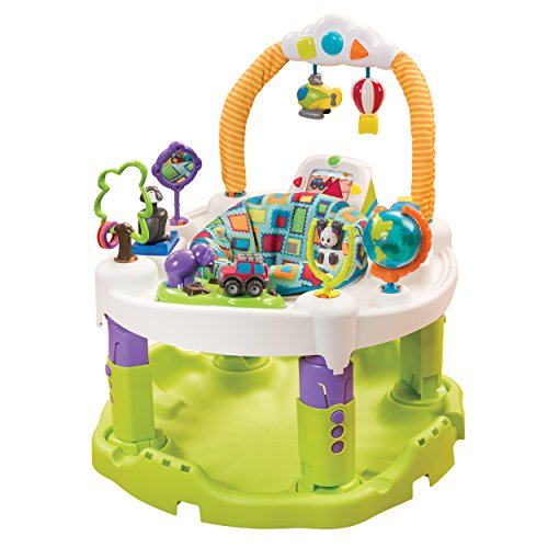 Evenflo ExerSaucer World Explorer Triple Fun Saucer