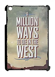 A million ways to die in the west wanted poster iPad mini - iPad mini 2 plastic case