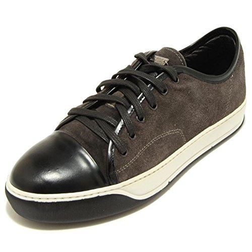 7738F sneaker grigio nero DANIELE ALESSANDRINI scarpa uomo shoes men Nero/Grigio