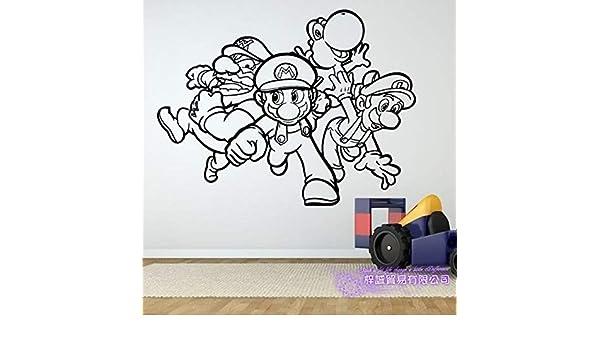 zxddzl Super Mario Etiqueta de Videojuegos Juego Sala de Juegos ...