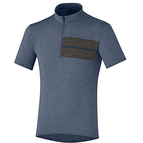 サンドイッチ強いこどもセンターShimano舗装サイクリングシャツ – メンズTransit