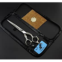 Professional 7 Inch Hairdressing Scissors Kit Hair Cutting Scissor Professional Hair Scissors Hair cutting Scissors Barber Salon Tools Shear handle