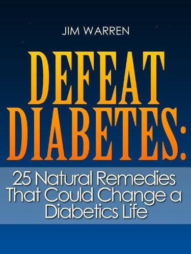 Defeat Diabetes Natural Remedies Diabetics ebook product image