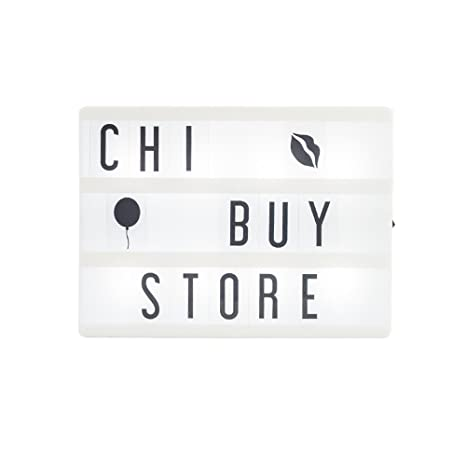 Amazon.com: chibuy regalo tamaño A5 Cinema Lightbox con ...