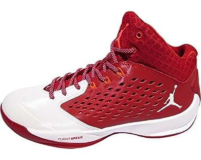 Nike Jordan Rising High Basketball Shoe (11 D(M) US, Red)