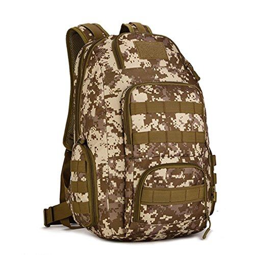Protector Plus Military Tactical Mochila Mochilas Pequeñas Senderismo Bolsa Trekking Al Aire Libre Camping Tactical Molle Pack Hombres Tactical Combat Travel Bolso 40L , B D