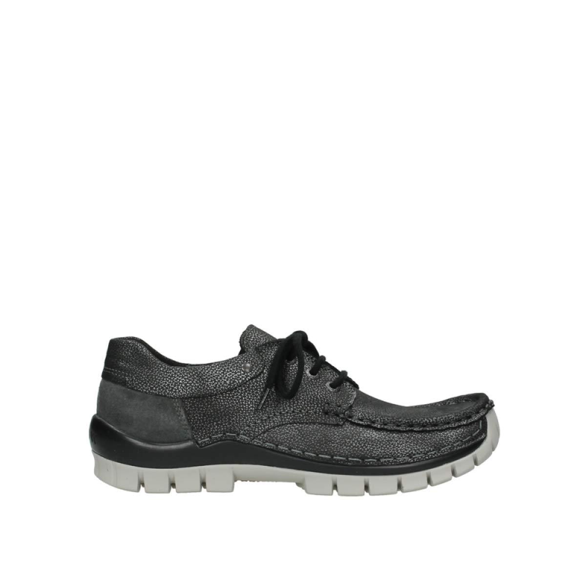 Wolky - Zapatos de Cordones para Mujer 41 EU Gris