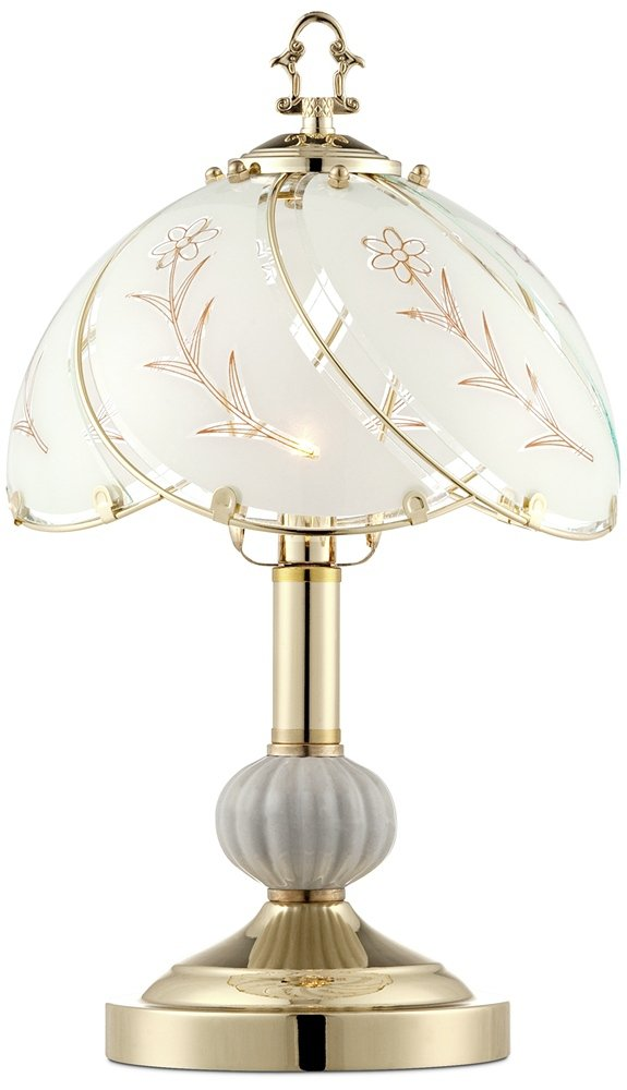 Polished brass 15 high touch on off accent table lamp amazon aloadofball Images