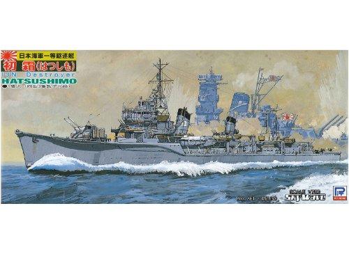 ピットロード 1/700 日本海軍 初春型 駆逐艦 初霜 エッチングパーツ付 W29EP