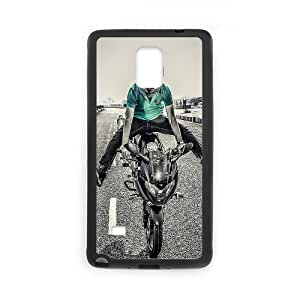 Biker Motorcycle 0 Samsung Galaxy Note 4 Cell Phone Case Black PQN6053055308694