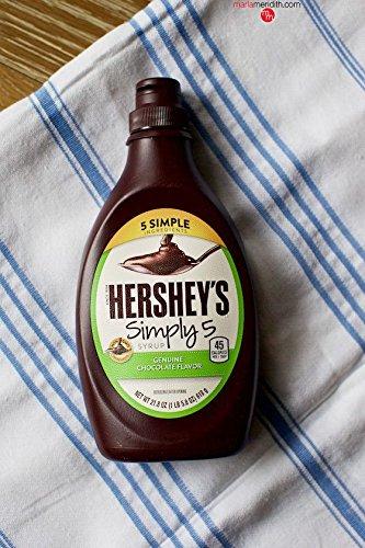 (HERSHEY'S SYRUP CHOCOLATE SIMPLY 5 21.8 OZ)