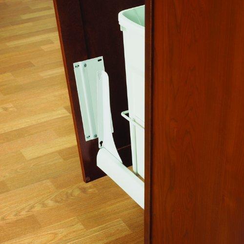 Knape & Vogt PDMKTWH Optional Door-Mount Bracket Kit, White by Knape & Vogt
