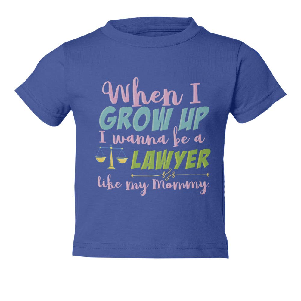 I Wanna Be A Future Lawyer Graphic Youth /& Toddler Tee Shirt