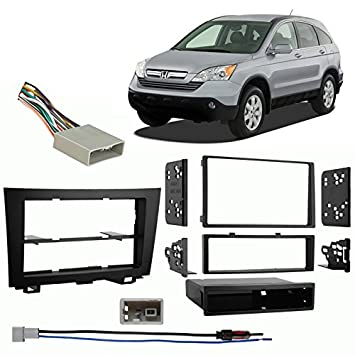 51qPC3Zd0jL._SY355_ amazon com fits honda crv 2007 2011 multi din aftermarket harness 2014 Honda CR-V at crackthecode.co