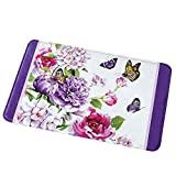 Best Collections Etc Bath Towels - Collections Etc Butterfly Watercolor Floral Decorative Purple Review