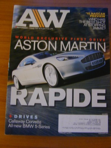 Auto Week Magazine February 8, 2010 NASCAR PREVIEW