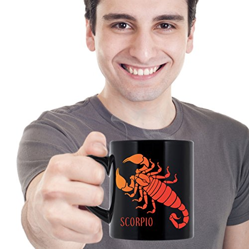 Scorpio Mug. Scorpion Constellation Zodiac Horoscope Astrology Star Sign Decor Souvenir. Coffee Gift Mugs Men Women Teens. Christmas Birthday Anniversary