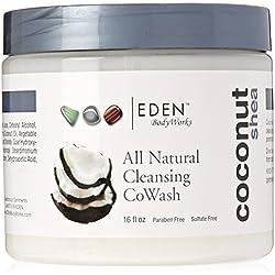 Eden BodyWorks Coconut Shea Cleansing Cowash, 16 oz