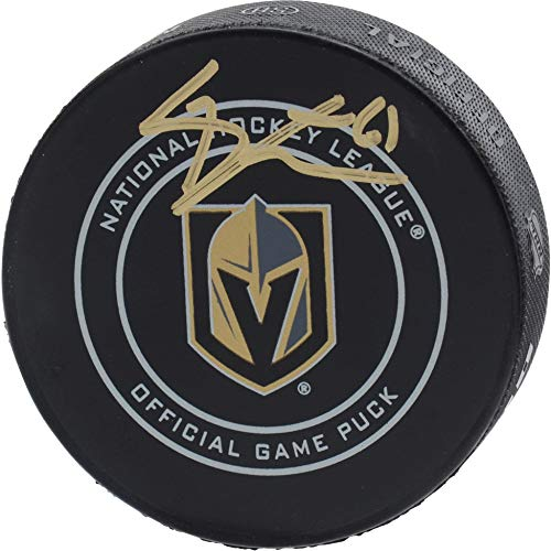 Mark Stone Vegas Golden Knights Autographed Official Game Puck - Fanatics Authentic Certified - Autographed NHL Pucks