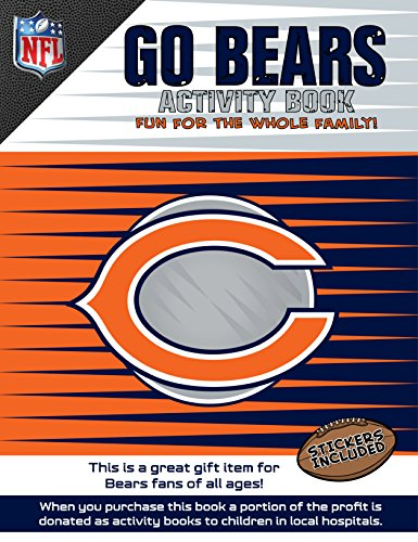 In The Sports Zone NFL Chicago Bears Activity Book/Orange/White/One Size -