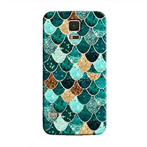 Cover It Up - Emerald Scales Galaxy S5Hard Case