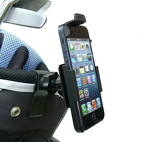 BuyBits Dedicated TC Golf Bag Clip Mount Phone Holder for iPhone SE