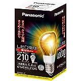 パナソニック LED電球(口金直径26mm ・全光束210lm・電球20W形相当・消費電力4.4W・電球色相当) LDA4LC
