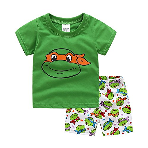 ninja turtle clothes size 6 - 1