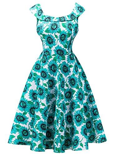Futurino - Vestido - para mujer Sunflowers